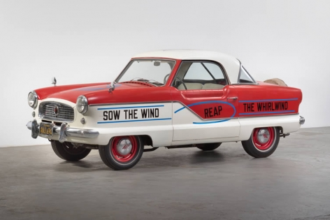 Lawrence Weiner Untitled (Sow the Wind, Reap the Whirlwind), 2015