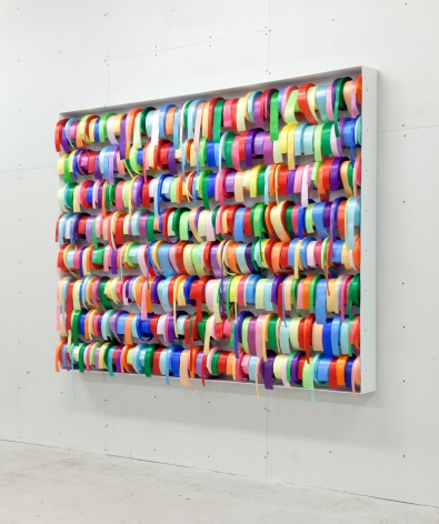 Peter Coffin Untitled (Ribbons)