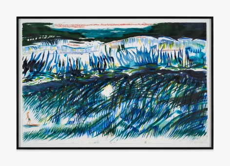Raymond Pettibon No Title (This left was…)
