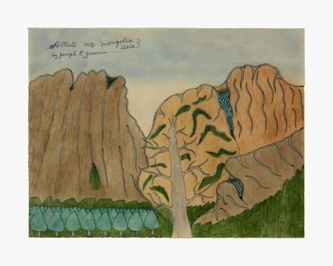 Joseph Elmer Yoakum Altali Mtn Mongolia Asia, c. 1970