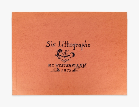 H.C. Westermann Six Lithographs – Portfolio, 1972