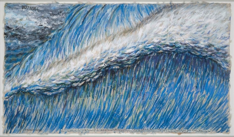 Raymond Pettibon, No Title (Outside! Caught Inside), 2007