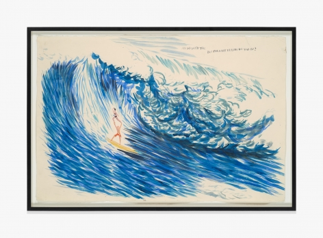 Raymond Pettibon No Title (I'll go with…)