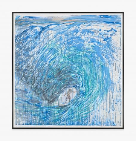 Raymond Pettibon No Title (Sometimes approaching the…)