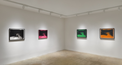 Installation view of Little Electric Chairs, New York, Venus Over Manhattan, 2016