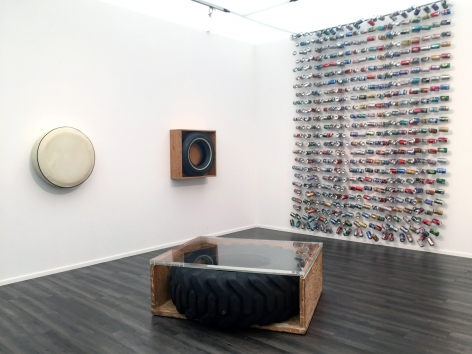 Installation view of John Dogg at Frieze Masters, London, 2017