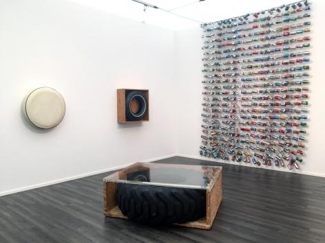 Installation view of John Dogg at Frieze Masters, London, 2017