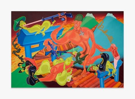 Peter Saul Pinkville, 1970 PSAUL019