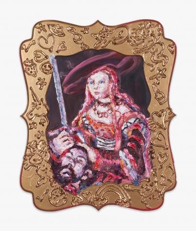 Annelie McKenzie Header (after Cranach the Elder), 2016