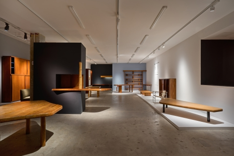 Installation view of Charlotte Perriand, New York, Venus Over Manhattan, 2018