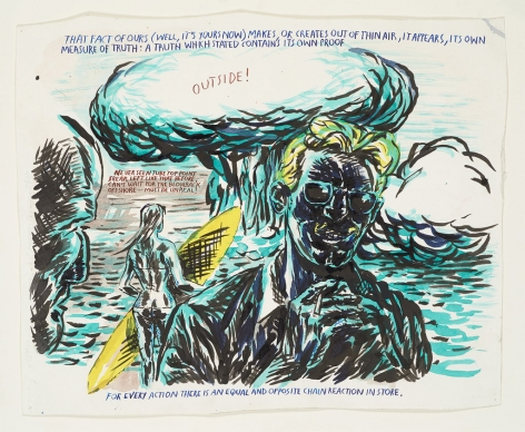 Raymond Pettibon, No Title (That Fact Of), 2003