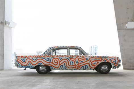 Keith Haring Untitled (Car)