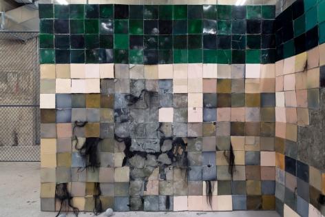 Andra Ursuta Stoning Wall (Bad, Bad Painting 1)