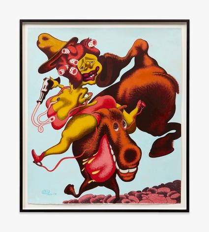 Peter Saul Daisy Crockett, 1985-2015 PSAUL033