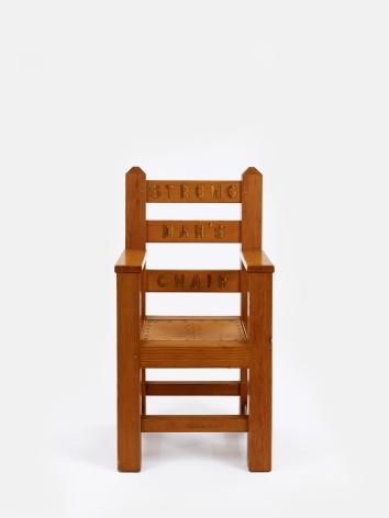 H.C. Westermann Strong Man's Chair, 1970
