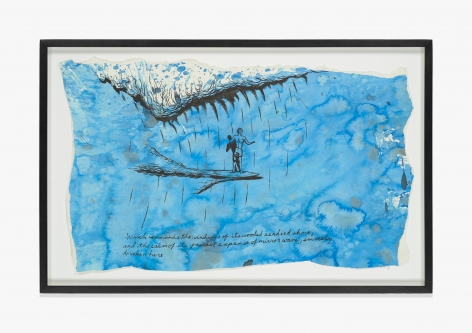 Raymond Pettibon No Title (Which commands the…)