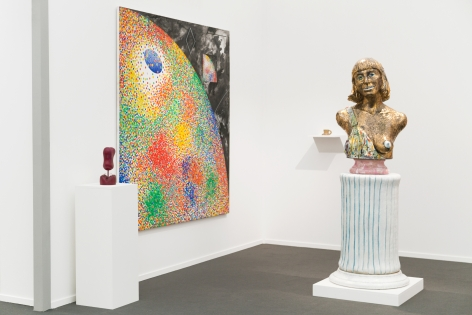 Installation view of Frumkin's Funk, Frieze Masters, London, 2018