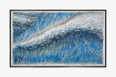Raymond Pettibon No Title (Outside! caught inside…)