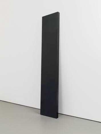 John McCracken Untitled (black plank), 1973