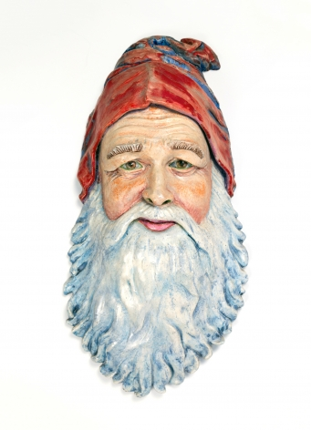 Robert Arneson Self-Portrait as Santa Claus, 1975