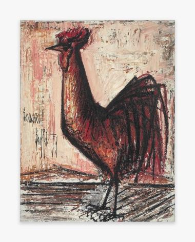 Bernard Buffet Le coq rouge, 1959
