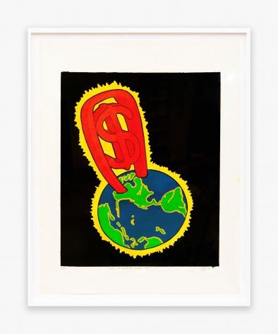 Peter Saul World of America No. 1, 1967