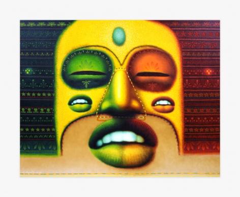Ed Paschke, Red Green Buddha, 2000. EPAS002