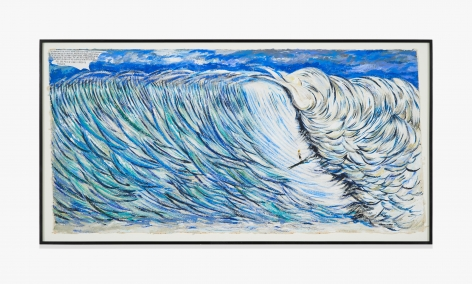 Raymond Pettibon No Title (The mantling of…)