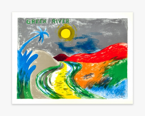 H.C. Westermann Six Lithographs – Green River, 1972