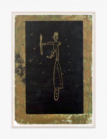 Walter Dahn Geburt der einarmigen Malerei