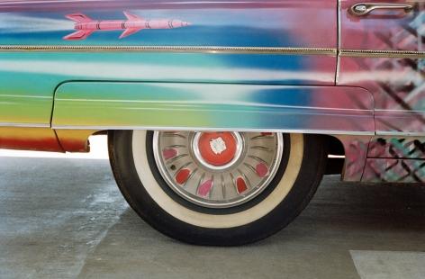 Piston Head Kenny Scharf Suprema Ultima Deluxa Van Chrome Cadillac