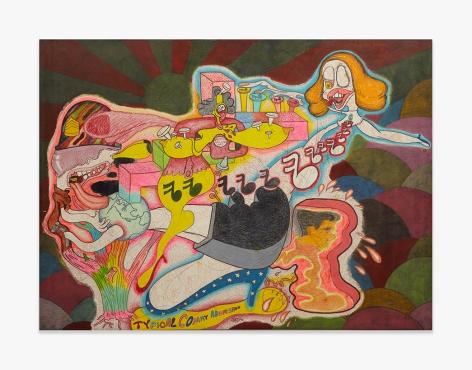 Peter Saul No Title, 1966 PSAUL006