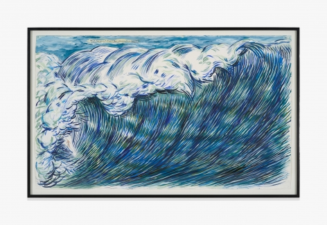 Raymond Pettibon No Title (Think, how were…)