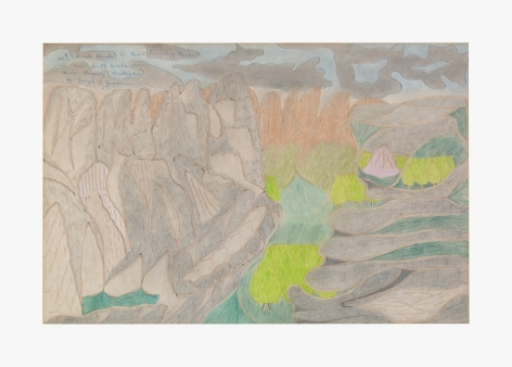 Joseph Elmer Yoakum Mt. Brenda Brenda in Great Dividing Range, c. 1968