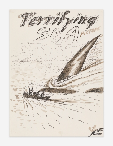 H.C. Westermann Terrifying Sea Picture, 1966
