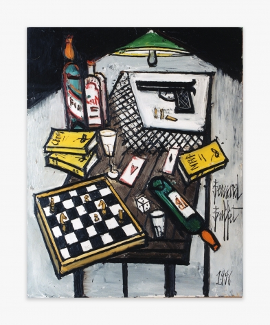 Bernard Buffet Nature morte sur une table, 1996