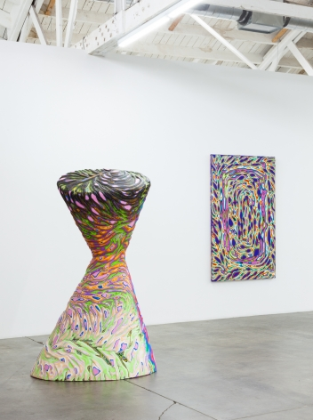 Installation view of Cutaways, Los Angeles, Venus Over Los Angeles, 2017