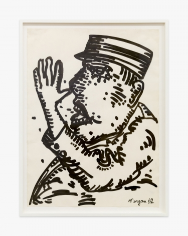 Maryan Personnage (Thumbing Nose), 1962