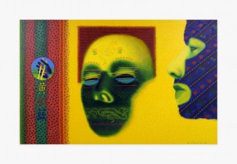 Ed Paschke, Ballon Illustree, 1996 EPAS001