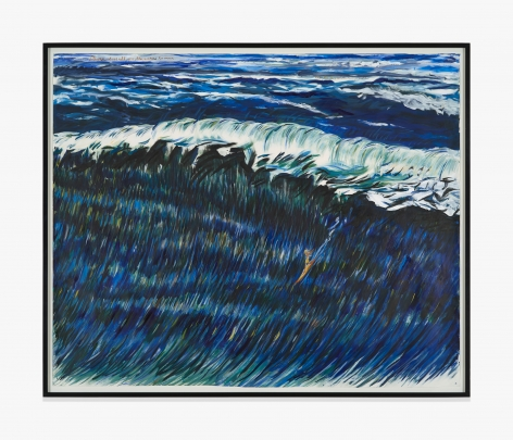 Raymond Pettibon No Title (Deeper above all…)