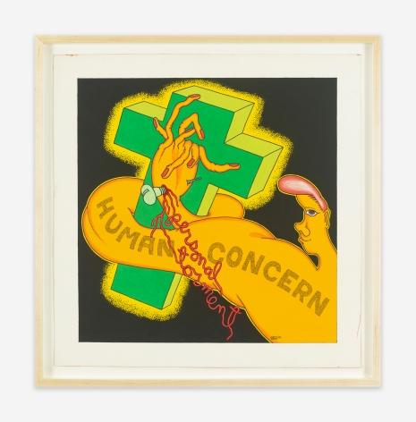 Peter Saul Human Concern Personal Torment, 1969