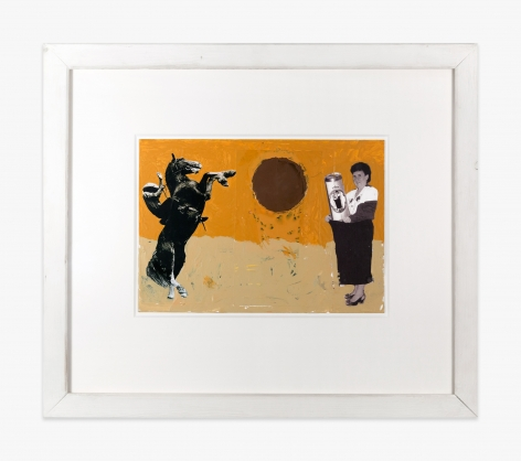 Franz West Untitled (Collage), 2002