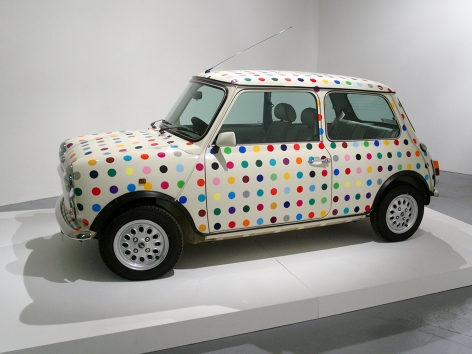 Damien Hirst Untitled (Spot Mini)