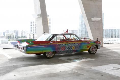Kenny Scharf Suprema Ultima Deluxa Van Chrome Cadillac