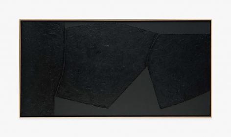 Alberto Burri Nero Cellotex, 1986-1987