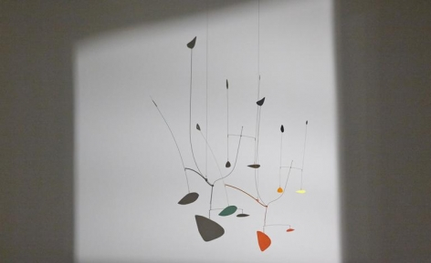 The works featured range in date from 1929 to 1974, with this piece called 'Untitled', from 1939