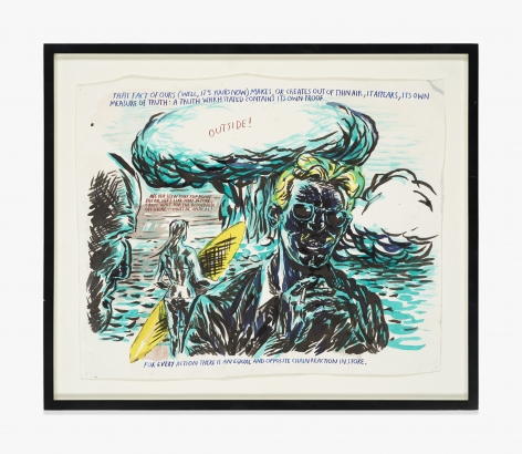 Raymond Pettibon No Title (That fact of…)
