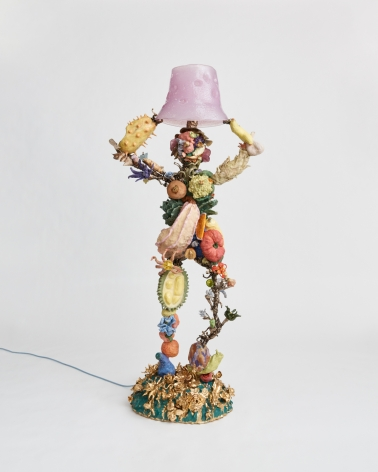 Sculpture and lamp by Katie Stout titled Janet from 2021
