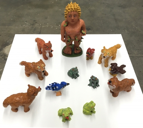 Sally Saul Frogs, Foxes, Bees and Birds, 2016