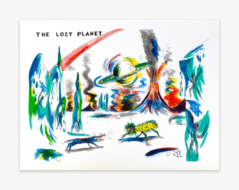 H.C. Westermann Six Lithographs – The Lost Planet, 1972